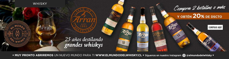 Promocion Whiskey Arran 20% Descuento