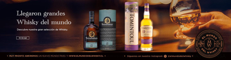 Presentación Whisky del mundo